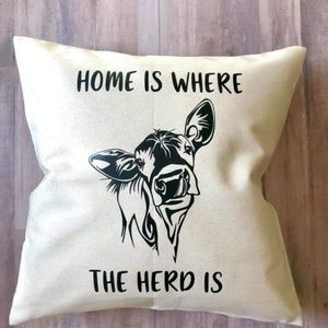One of a kind throw pillow!